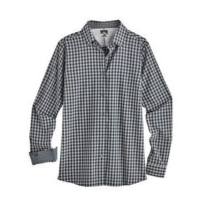 Women's Gingham 4-Way Stretch Eco-Woven Shirt