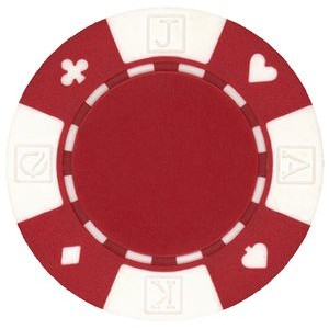 11.5 gram ABS Card Suited Poker Chips - Blank